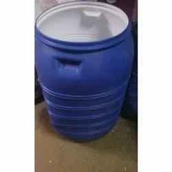 Blue Plastic Water Storage Can, Storage Capacity: 50-100 L