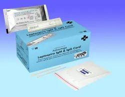 Plastic Adv Leptospira LGM & LGG Card 10 Test, For Hospital