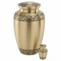 Brass Bronze Finish Urn