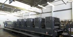 Heidelberg SM 102-F L 5 Color Used Offset Press Machine