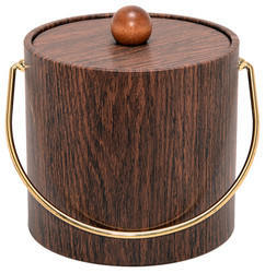 Wooden Stainless Steel Ice Buckets NJO-2638