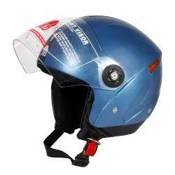 Grand Open Face Helmet (Cyan Blue)