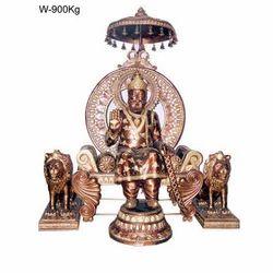 Golden (Gold Plated) Brass God Statues