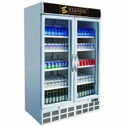 Elanpro Stainless Steel Double Door Commercial Refrigerator ECG 1100 DD, -2-10 Degree Celsius