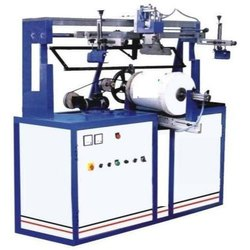 Medi- Tek Global Iron Round Screen Printing Press Machine, Automation Grade: Fully Automatic