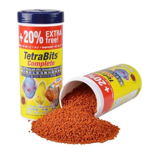Tetra Bits Complete Fish Food, Pack Size: 250 G, Packaging Type: Bottle