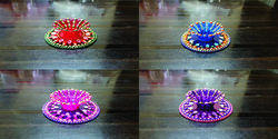 Kundan Decorative Diya