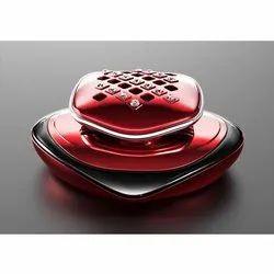 Red Glass Inside Car Air Freshener