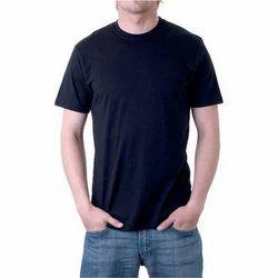 Plain Half sleeve Men''S Round Neck T-Shirt