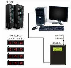 Server Based TCP-IP Digital Clock