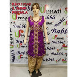 Unnati Ladies Party Wear Salwar Suit, Packaging: Packet