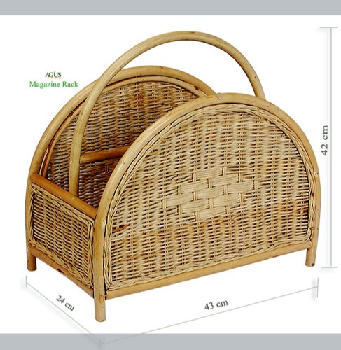 Magnificent Natural Cane Agus Cane Magazine Rack Agus Enterprises Id Ocoug Best Dining Table And Chair Ideas Images Ocougorg