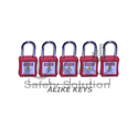 Abs Shell Ls-lc35 Alike Key Osha Safety Loto Padlock