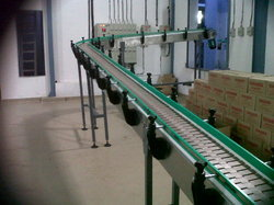 Slat Band Conveyor System