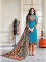 Cambric Cotton Printed Churidar Salwar Kameez