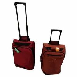 Polyester New Feel Red Trolley, Number Of Wheel: 2