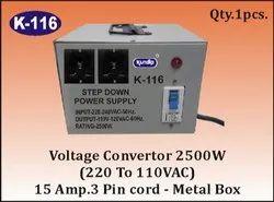 K-116 Step Down Voltage Converter (2500 W)