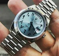 Automatic Male Rolex Arabic Watch, Features: Autoamtic/Arab Version, for Formal