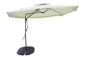 Patio Umbrella-Side Pole-Pull Push-2.2M-Beige