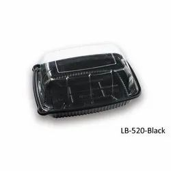 LB-520-Black Plastic Container