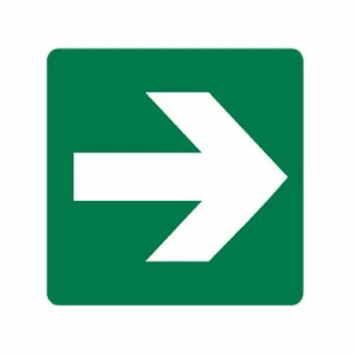 Metal And ACP Sheet Road Direction Arrow Sign, Rs 1200 /square feet Dev Plastics   ID: 12437351591