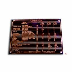 Copper Name Plate