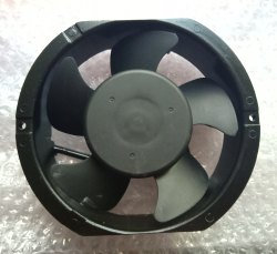 Black Rexnord Ac Axial Cooling Fan 6