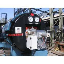 Vertical Four Pass Manual Fried Thermic Fluid Heater