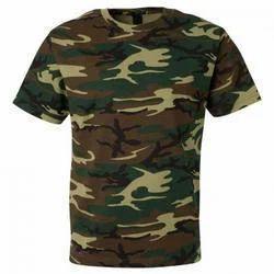 Army Print T Shirt