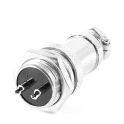 Sibass 2 Pin Industrial Metal Round Connectors