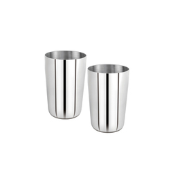 300 ml Stainless Steel Glass