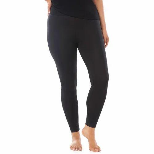 1d2af49f871eb5 Black Cotton Full Ankle Length Legging, Size: S, M, L, XL,XXL,XXXL ...