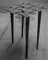 Wrought Iron Decorative Table