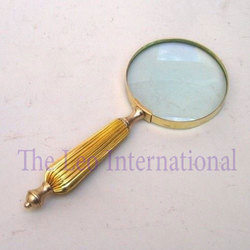 Brass Nautical Magnifying Glass