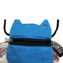 Blue Funky Pouch Bags