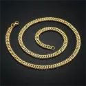 22 Carat Men Gold Chain, Weight: 22 Gram