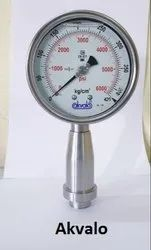Homogeniser Pressure Gauges