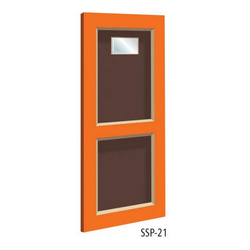 Office Solid Panel PVC Door