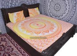 Trishul Mandala Duvet Cover