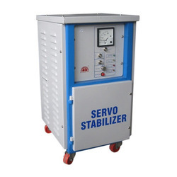 82 Mild Steel Servo Power Stabilizer, 220 V, 10 Kw