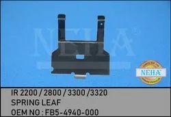Ir 2200 / 2800 / 3300 /3320 Spring Leaf OEM No : Fb5-4940-000