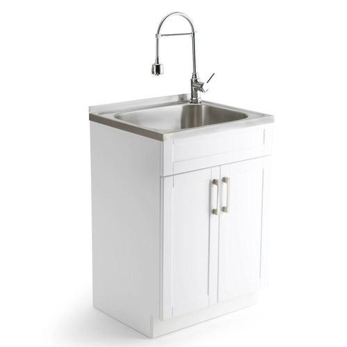 Utility Sink.Slop Utility Sink With Cabinet