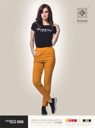 Kiana Presents New Cotton Lycra Cigarette Pants