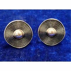 Ladies Round Earrings