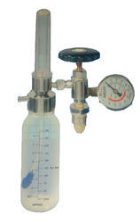 Oxygen Rotameter with Humidifier