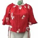 Ladies Rayon Casual Wear Cotton Printed Tube Top