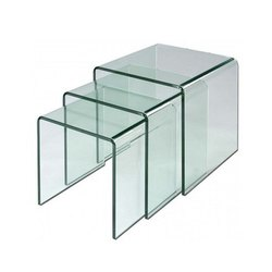 Transparent U Bended Glass, Thickness: 5mm
