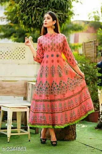 Dhavalcollections Printed Ladies Wear