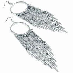 Silver Designer Earring