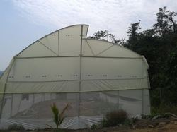Open Ventilated Greenhouse